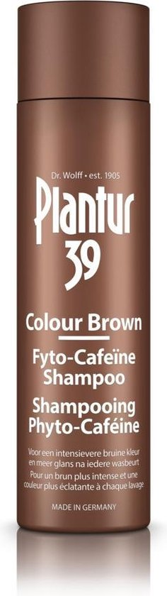 Plantur39 Color Brown Shampoo - 250ml - shampoo