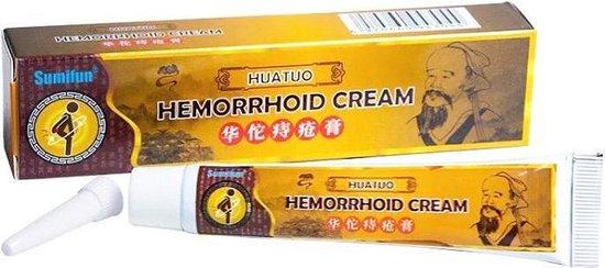 anti aambeien crème / zalf met natuurlijke ingrediënten / pijn & zwelling verminderend + verkoelend effect