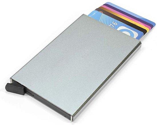 Figuretta Basic Creditcardhouder / RFID Card Protector - 6 Pasjes - Zilver