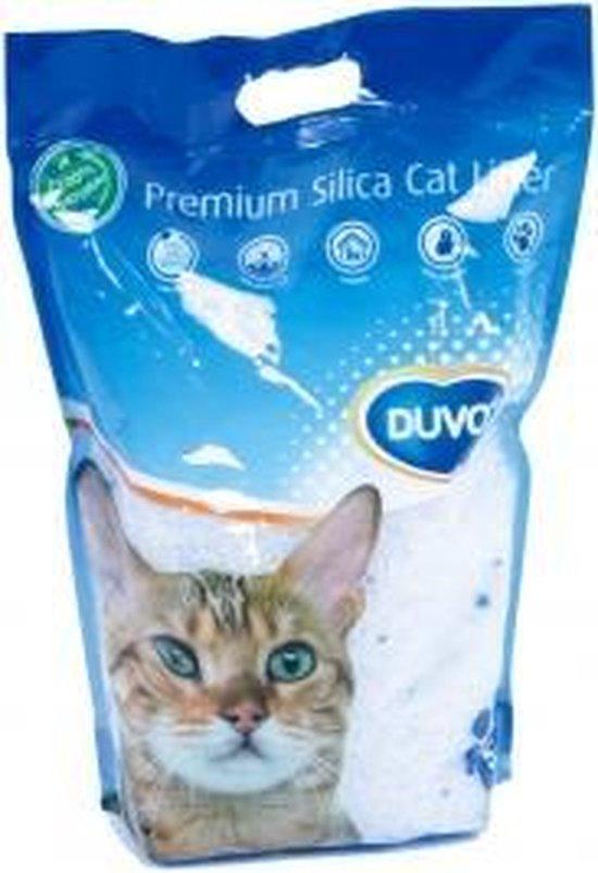 DUVO+ Silica Kattenvulling 6 x 5 Liter - Hoeveelheidskorting