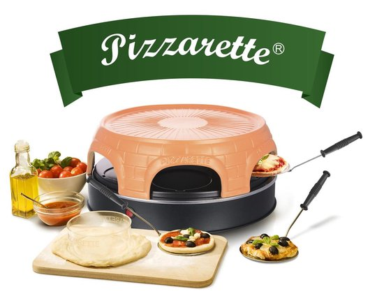 Emerio PO-115848 - Pizzarette - 6 personen