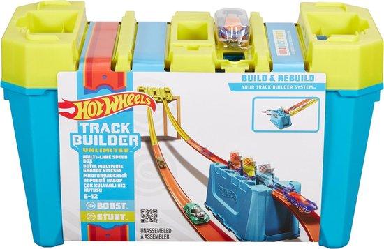 Hot Wheels Track Builder Gravity Box - Racebaan