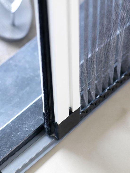 Plisse Hordeur Linate Type E 2061 - 2090 / 960 mm Wit