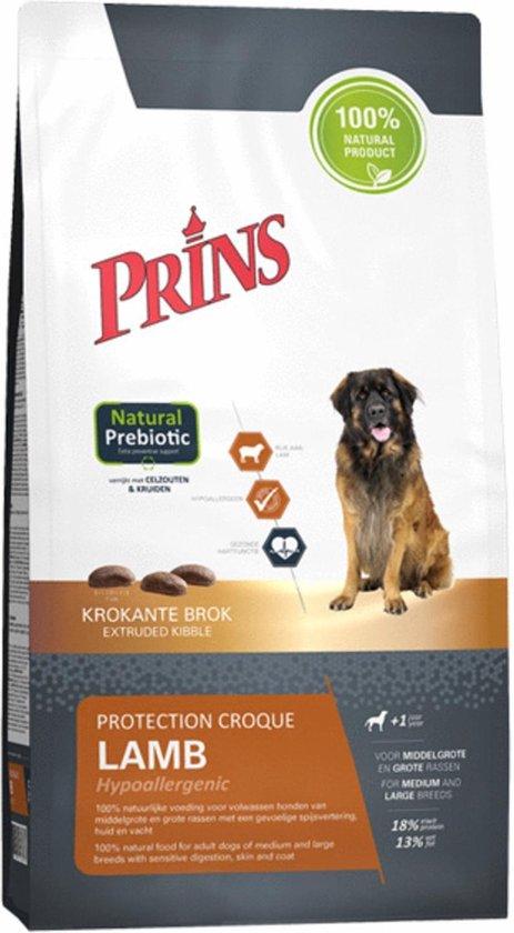 Prins Protection Croque Hypoallergeen - Lam - Hondenvoer - 10 kg