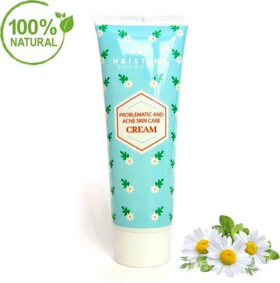 Natural Anti-Acne Crème - Rode En Problematische Huid|Met Vit.E-100 ml