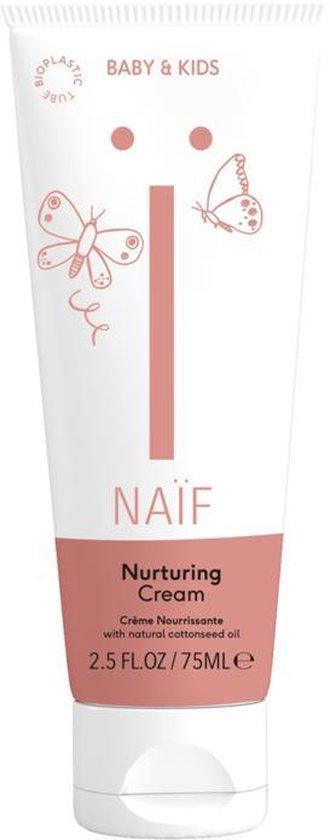 Naïf - Nurturing Cream - baby en kind - eerste hulp bij droge plekken en eczeem - geschikt voor lichaam én gezicht