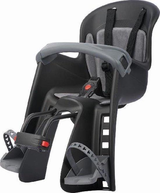 Polisport Bilby Junior Fietsstoeltje Voor - Zwart