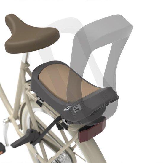 Urban Iki Junior fietszitje incl kader - Bincho Black/ Kurumi Brown