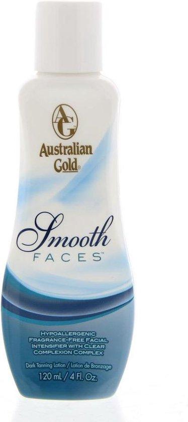 Australian Gold Smooth Faces Zonnebankcrème - 120 ml