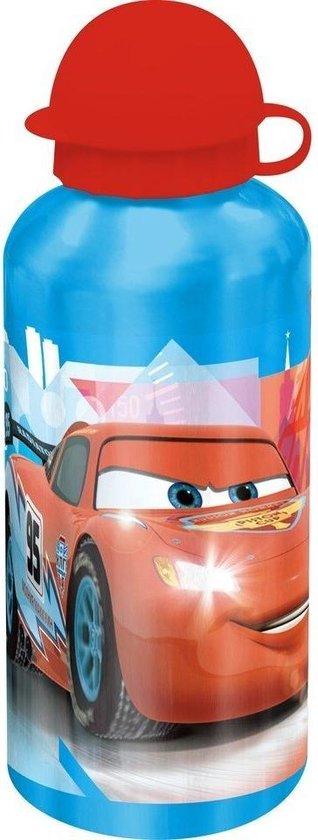 Disney Cars Alu Drinkfles - 500 ml - Aluminium drinkbeker