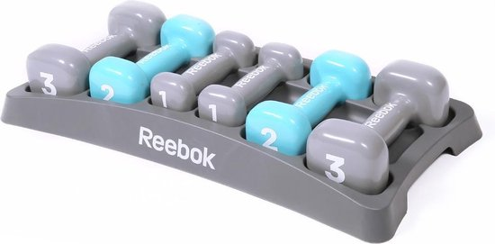 Dumbell set Reebok dames training
