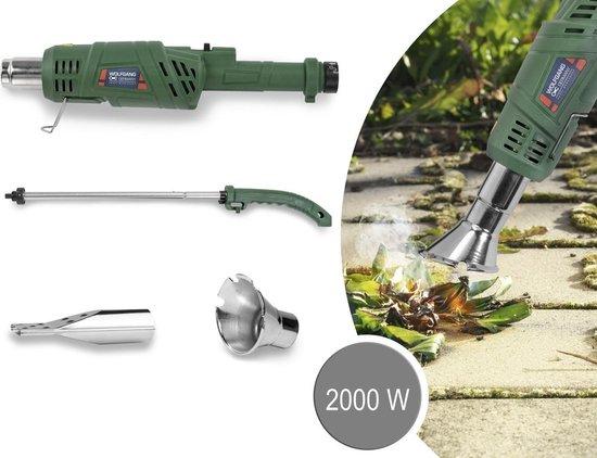 Elektrische onkruidbrander Onkruidvernietiger BBQ aansteker 2000W - Verwijder onkruid in 5 seconden