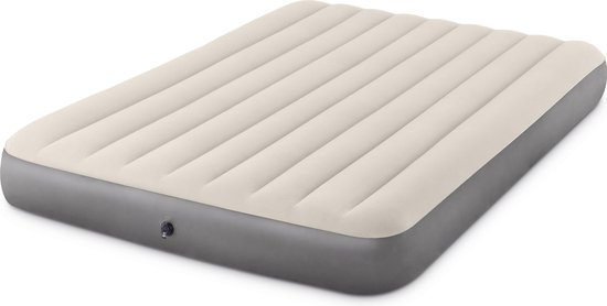 Intex Deluxe High Luchtbed - 2-persoons - 203x152x25 cm