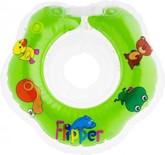 Roxy Kids – Zwemring Baby – Zwemkraag – Nekring opblaasbaar – Drijfring - Babyfloat – Babyswimmer – Flipper 0-24 maanden 3-12 kg