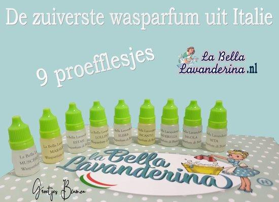 Wasparfum La Bella Lavanderina, Proefpakket