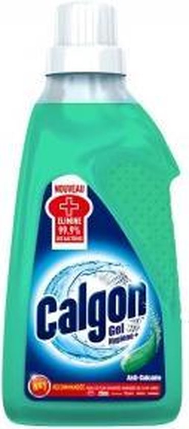 Calgon Hygiëne+ Gel Wasmachine Reiniger en Anti Kalk - 750 ml