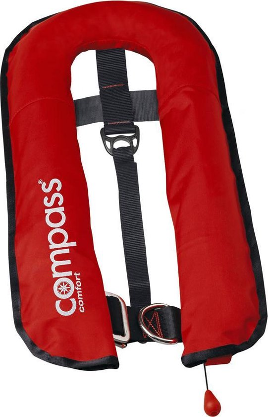 Reddingvest 16 l met handmatige bediening en met geïntegreerde veiligheidsgordel- Compass »Comfort«