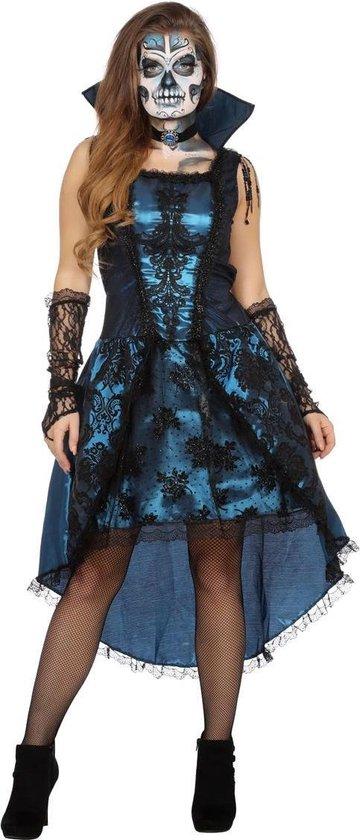 Blue vampire lady jurk voor dame