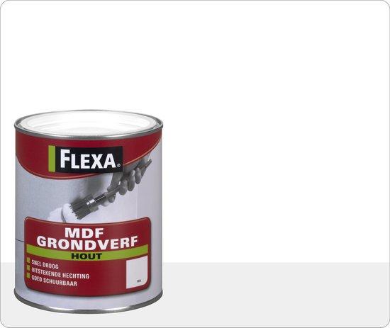 Flexa Mdf Grondverf Wit 0,25 Ltr