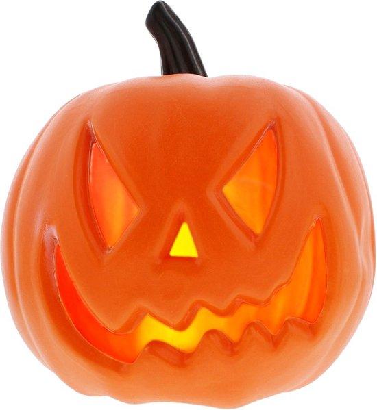Halloween pompoen- Halloween decoratie- Pompoen leuk met licht- Halloween- Herfst- decoratie -