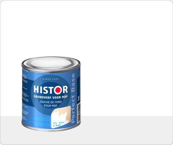 Histor Perfect Base Grondverf voor MDF 0,25 liter - Wit