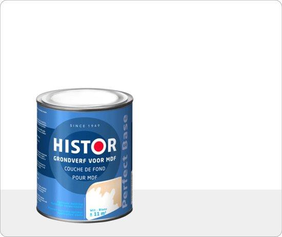 Histor Perfect Base Grondverf voor MDF 0,75 liter - Wit