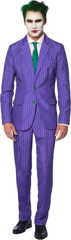 Suitmeister The Joker - Mannen Kostuum - Gekleurd - Carnaval - Maat L