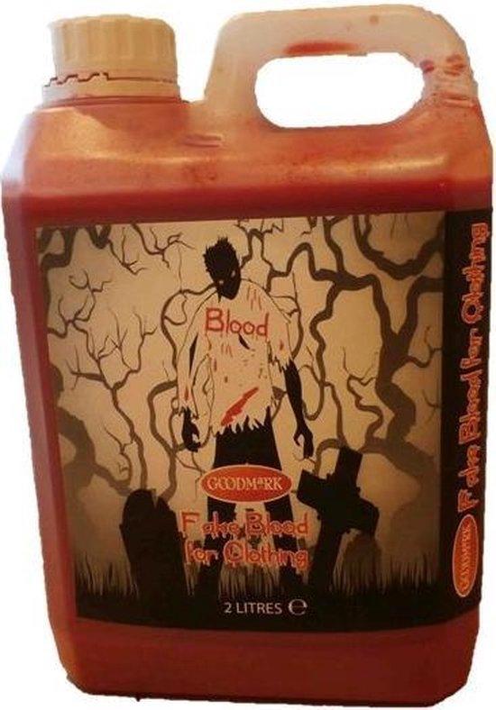"""Textiel nep bloed 2L Halloween - Schmink - One size"""