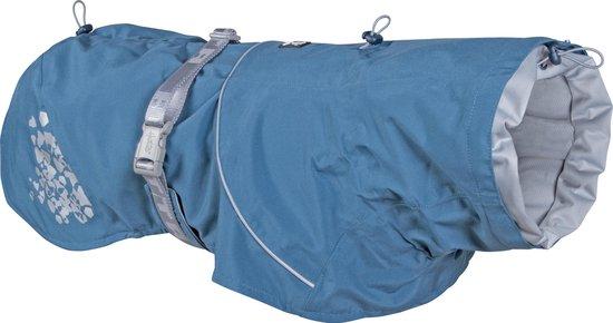 Hurtta Honden Regenjas - Monsoon Coat - Bilberry Blauw - Meerdere maten