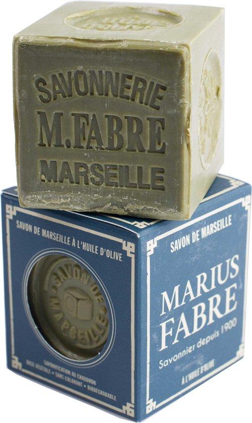 Marseillezeep (Savon de Marseille) - 200 gram plasticvrij verpakt en palmolie vrij - Marseille zeep - vegan - dierproefvrij - zonder chemische toevoegingen