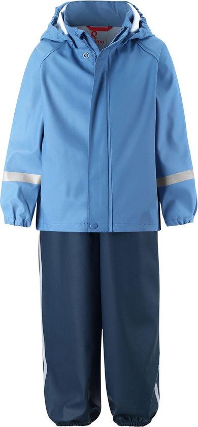 Reima - Regenpak voor jongens - Tihku - Denimblauw - maat 80cm