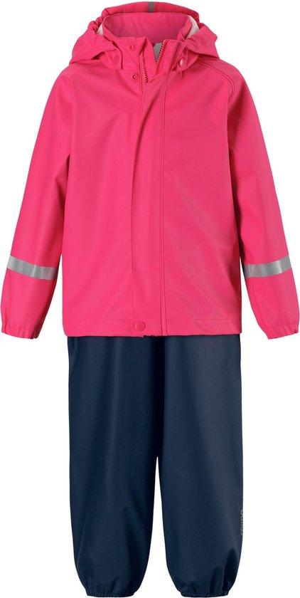 Reima - Regenpak voor meisjes - Tihku - Felroze - maat 86cm